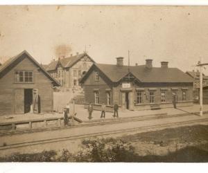 Madonas stacija ap 1910. gadu