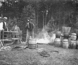 Mucu gatavošana Praulienas pagastā XX gs sākumā