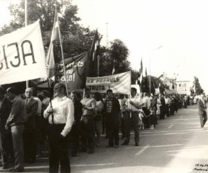 1989. g. 17. jūnijs Madonā. Ž. Bezmers