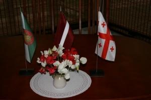 7. augustā Madonā ieradās delegācija no Gruzijas