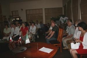Mirkļi no Gruzijas delegācijas viesošanās Madonā
