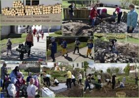 """Kopīgi sadarbojoties (iestādes darbinieki, bērni, vecāki) veidojas taka ,,Sajūti Latviju"""""""