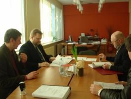 Būvniecības līguma parakstīšana