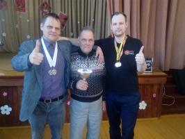 Uzvarētājkomanda: Maigonis Juhnevičs, Jāzeps Juhnevičs, Edijs Navickis
